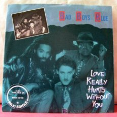 Discos de vinilo: BAD BOYS BLYE (LADY BLUE - LOVE REALLY HURTS WITHOUT YOU). Lote 6774102