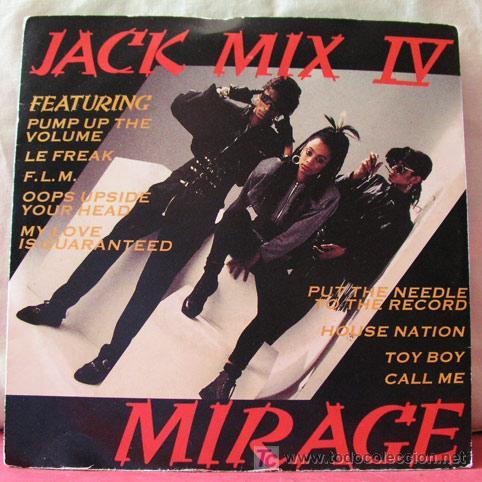 JACK MIX IV (MIRAGE - MIRAGE) (Música - Discos - Singles Vinilo - Funk, Soul y Black Music)
