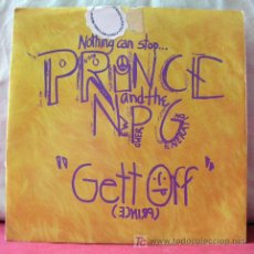 Discos de vinilo: PRINCE AND THE NEW POWER GENERATION ( GETT OFF - HORNY PONY ) GERMANY-1991 SNGLE45. Lote 6774218