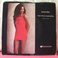Discos de vinilo: BLACK BOX (I DON'T KNOW ANYBODY ELSE - I DON'T KNOW ANYBODY ELSE) 1990-ENGLAND SINGLE45 . Lote 6774246