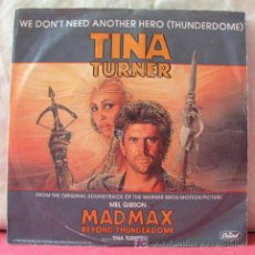 Dischi in vinile: TINA TURNER (WE DON'T NEED ANOTHER HERO - WE DON'T NEED ANOTHER HERO INSTRUMENTAL). Lote 6774262