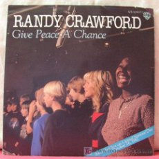 Discos de vinilo: RANDY CRAWFORD (DON'T COME KNOCKIN' - GIVE PEACE A CHANCE) SINGLE45. Lote 6774281