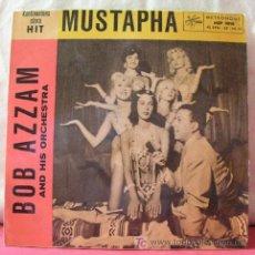 Discos de vinilo: BOB ZZAM & ORCHESTRA ( MUSTAPHA - TINTARELLA DI LUNA - BELLA BIMBA - MANUELA ) EP45 . Lote 6775795