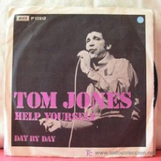 Discos de vinilo: TOM JONES ( HEP YOURSELF - DAY BY DAY ) 1968 SINGLE 45. Lote 6776493