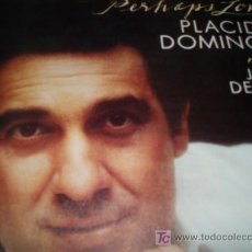 Discos de vinilo: PLACIDO DOMINGO...PERHAPS LOVE. Lote 6778425