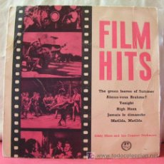 Discos de vinilo: FILM HITS ( THE GREEN LEAVES OF SUMMER - AIMEZ VOUS BRAHMS - TONIGHT - HIGH NOOM - JAMAIS LE DIMANCH. Lote 6783989