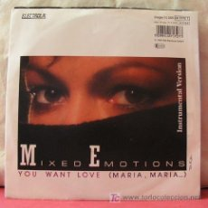 Discos de vinilo: MIXED EMOTIONS (YOU WANT LOVE - YOU WANT LOVE INSTRUMENTAL). Lote 6810248