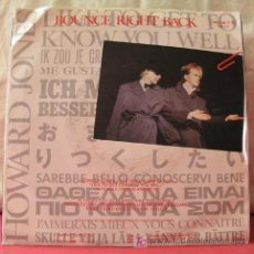 Discos de vinilo: HOWARD JONES ( LIKE TO GET TO KNOW YOU WELL - BOUNCE RIGHT BACK ) 1984-GERMANY SINGLE45 WEA. Lote 6810457