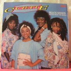Discos de vinilo: CURTIE & THE BOOMBOX ( BLACK KISSES 2 VERSIONES ) 1985-SWEDEN SINGLE45 RCA. Lote 6810650