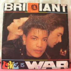 Discos de vinilo: BRILLIANT (THE RED RED GROOVY - LOVE IS WAR). Lote 6810732