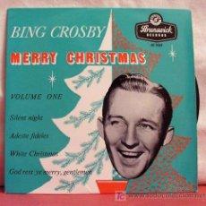 Discos de vinilo: BING CROSBY 'MERRY CHRISTMAS'(SILENT NIGHT-ADESTE FIDELES - WHITE CHRISTMAS - GOD REST YE MERY) EP45. Lote 6810819