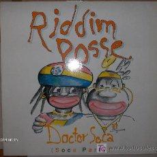 Discos de vinilo: RIDDIM POSSE ---- DOCTOR SOCA MAXI. Lote 17431324