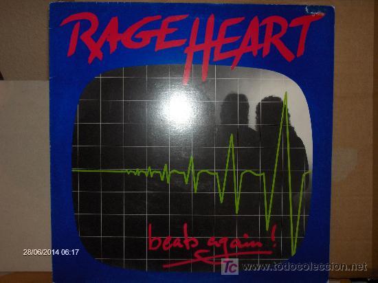 RAGE HEART ------ BEATS AGAIN (Música - Discos - LP Vinilo - Heavy - Metal)