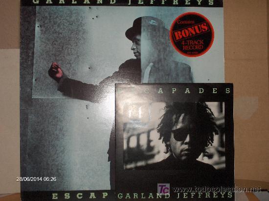 GARLAND JEFFRIES ----- ESCAPE ARTIST + EP (Música - Discos de Vinilo - EPs - Pop - Rock Extranjero de los 70)