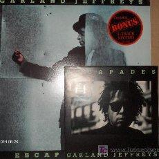 Discos de vinilo: GARLAND JEFFRIES ----- ESCAPE ARTIST + EP. Lote 17458422