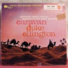 Disques de vinyle: DUKE ELLINGTON & HIS ORCHESTRA ( CARAVAN ) GERMANY 1958 EP RCA. Lote 6830575