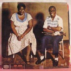 Discos de vinilo: ELLA FITZGERALD AND LOUIS ARMSTRONG (ELLA OCH LOUIS VOL 1 ) SWEDEN 1957 EP KARUSELL. Lote 6830881