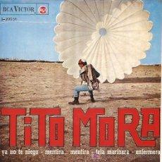 Discos de vinilo: TITO MORA EP SELLO RCA VICTOR AÑO 1965.. Lote 6832927