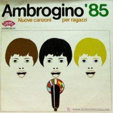 Discos de vinilo: LUCA GUZZO-MONICA GRANAI-IL GRUPPO-CESARE CAPITANI-IVAN VESPA ETC..-AMBROGINO 85 LP ITALIA LASAPA. Lote 6834433