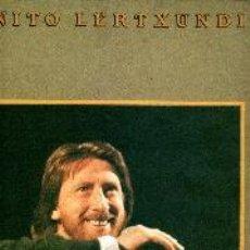 Discos de vinilo: BENITO LERTXUNDI LP MAULEKO BIDEAN IZATEAREN MUGAGABEAN NUEVO, PRECINTADO. Lote 43394626