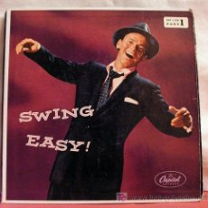 Dischi in vinile: FRANK SINATRA 'SWING EASY' (SUNDAY - WRAP YOUR TROUBLES IN DREAMS - JUST ONE OF THOSE THINGS...)EP. Lote 6843212