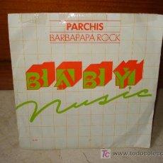 Dischi in vinile: PARCHÍS -BARBAPAPÁ ROCK. Lote 6844664