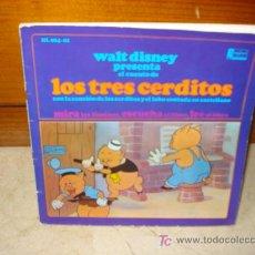 Discos de vinilo: LOS TRES CERDITOS DISCO CUENTO. Lote 6845954