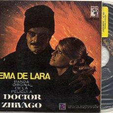 Discos de vinilo: EP 45 RPM / TEMA DE LARA -DOCTOR ZHIVAGO /// EDITADO POR MGM. Lote 21214162