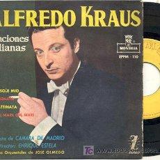 Discos de vinilo: EP 45 RPM / ALFREDO KRAUS / CANCIONES ITALIANAS //// . Lote 14430617