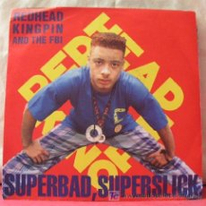 Discos de vinilo: REDHEAD KINGPIN & THE F.B.I. (SUPERBAD,SUPERSLICK - A SHADE OF RED). Lote 6854345