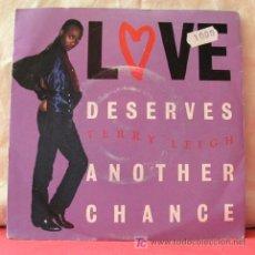 Discos de vinilo: TERRY LEIGH (LOVE DESERVES ANOTHER CHANGE - LOVE DESERVES ANOTHER CHANGE). Lote 6854535