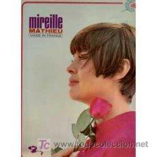 Discos de vinilo: MIREILLE MATHIEU LP MADE IN FRANCE PORTADA DOBLE BARCLAY 80352 S VEDETTES. Lote 25300684