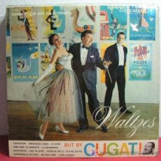 Discos de vinilo: XAVIER CUGAT AND HIS ORCHESTRA ( WALTZES - BUT BY CUGAT! ) USA LP33 COLUMBIA. Lote 6858413