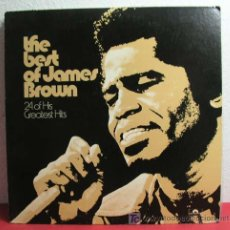 Discos de vinilo: JAMES BROWN ( THE BEST OF JAMES BROWN ) NEW YORK-USA 2LP POLYDOR. Lote 6871565