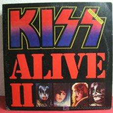 Discos de vinilo: KISS ( ALIVE II ) CANADA - 1977 2LP CASABLANCA RECORDS. Lote 213117833