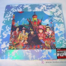 Discos de vinilo: LP THE ROLLING STONES THEIR SATANIC MAJESTIES REQUEST NUEVO PRECINTADO CARPETA DOBLE. Lote 123728987