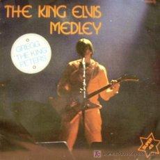 GREGG THE KING PETERS-THE KING ELVIS MEDLEY MAXI SINGLE VINILO ZAFIRO 1982