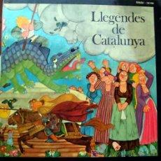 Discos de vinilo: LLEGENDES DE CATALUNYA DE JAUME PICAS I ANTONI ROS MARBA. Lote 19082544