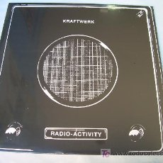 Discos de vinilo: LP KRAFTWERK RADIO ACTIVITY NUEVO PRECINTADO VINILO. Lote 31791558