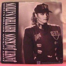 Discos de vinil: JANET JACKSON ( RHYTHM NATION 2 VERSIONES ) 1989 SINGLE 45. Lote 6931736