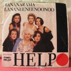 Discos de vinilo: BANANARAMA - LA NA NEE NEE NOO NOO (HELP COMEDY VERSION - HELP). Lote 6932831