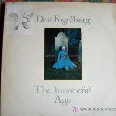Discos de vinilo: LP - DAN FOGELBERG - THE INNOCENT AGE - DOBLE DISCO, ORIGINAL ESPAÑOL, EPIC 1981. Lote 26117754