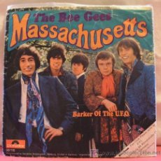 Discos de vinilo: THE BEE GEES ( MASSACHUSETTS - BARKER OF THE U.F.O. ) 1967 SINGLE 45. Lote 6943378