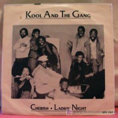 Discos de vinilo: KOOL AND THE GANG ( CHERISH - LADIE'S NIGHT ) 1985 SINGLE 45. Lote 6943423