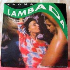 Discos de vinilo: KAOMA (LAMBADA - LAMBADA INSTRUMENTAL) HOLANDA-1989 SINGLE45 CBS. Lote 218260535