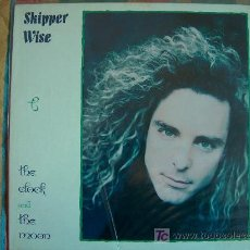 Discos de vinilo: LP - SKIPPER WISE - THE CLOCK AND THE MOON - CYPRESS RECORDS 1989. Lote 6963947
