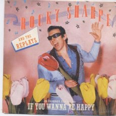 Disques de vinyle: ROCKY SHARPE AND THE REPLAYS,DEL 83. Lote 6969240
