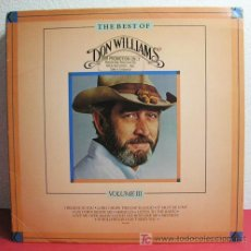 Discos de vinilo: DON WILLIAMS ( THE BEST OF DON WILLIAMS VOLUME III ) USA-1984 LP33. Lote 6971598
