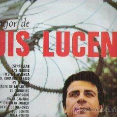 Discos de vinilo: LUIS LUCENA LO MEJOR*** EN VIK 1967. Lote 7008417