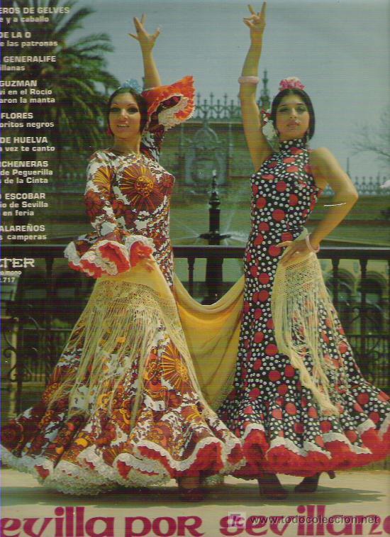 SEVILLA POR SEVILLANAS *** PERLITA DE HUELVA / PACO GUZMN / LOS DE LA O EN BELTER 1972 (Música - Discos - LP Vinilo - Flamenco, Canción española y Cuplé)